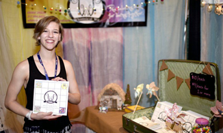 Students showcase businesses at national CEO trade show