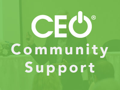 CEO Community Support