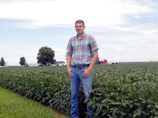 Young Farmer Wins Conservation Award